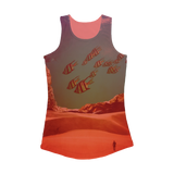 VIRGIN TEEZ Women Tank top Electric Pink / XS Inside the Cave Women Performance Tank Top