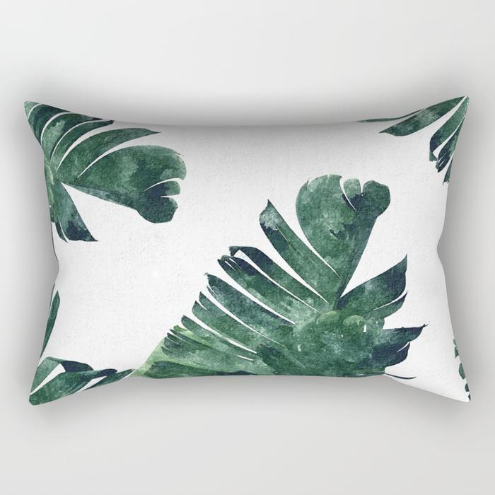 The Pillow pillows Leaf Rectangle Pillow