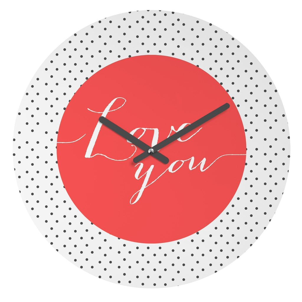 Wall Clock WallClock LOVE YOU WALL CLOCK