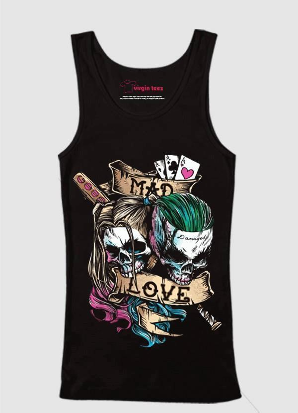 M Nidal Khan Tank Top SMALL Mad Love Tank Top