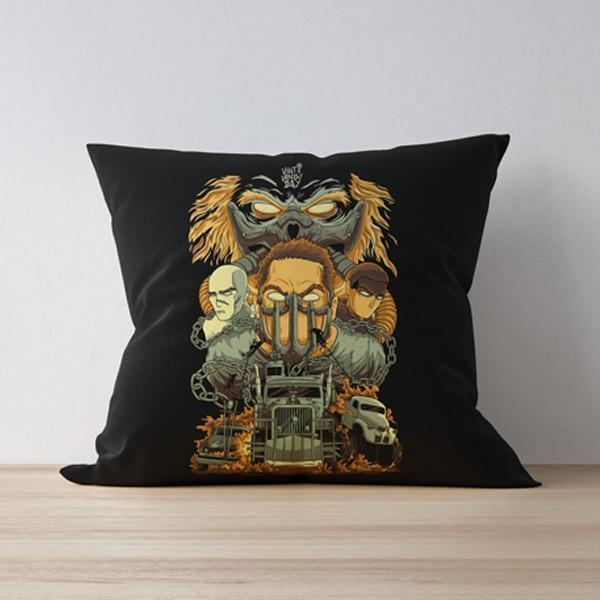 M Nidal Khan Cushion MadMax Pillow/Cushion