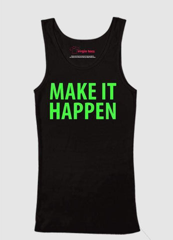 Ali Ahsan Tank Tops Make It Happen Tank Top