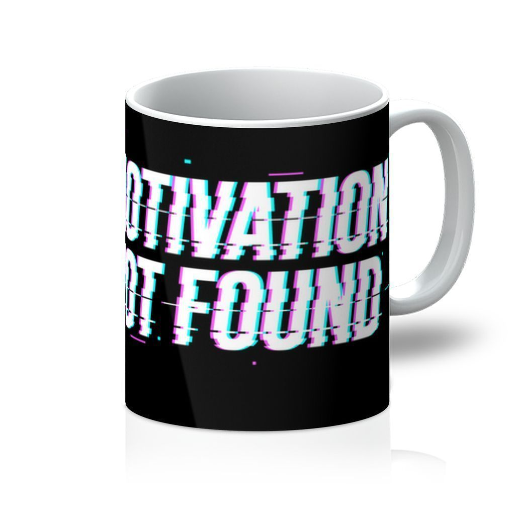 VIRGIN TEEZ Homeware 11oz Motivation not found Mug