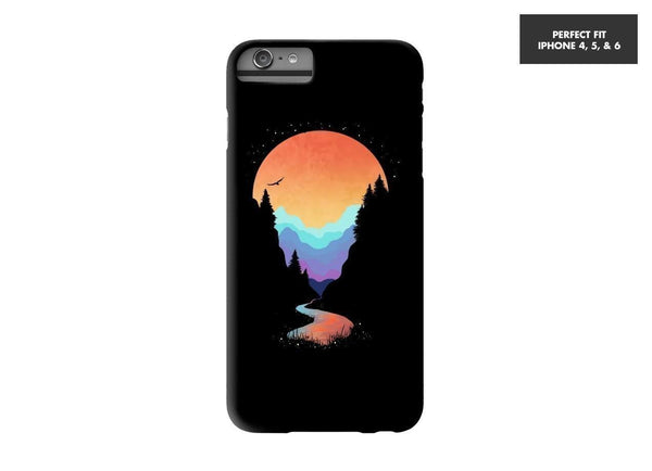 Threadless Mobile Cover Mountain Stream Mobile Cover