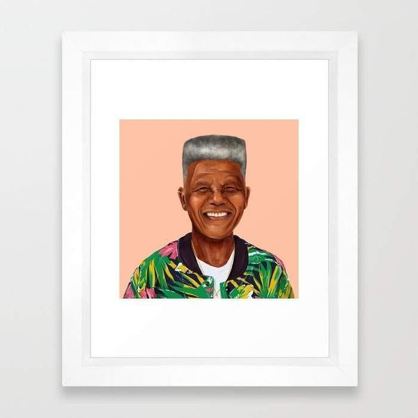 Deny Designs Framed Art Prints Nelson Mandela