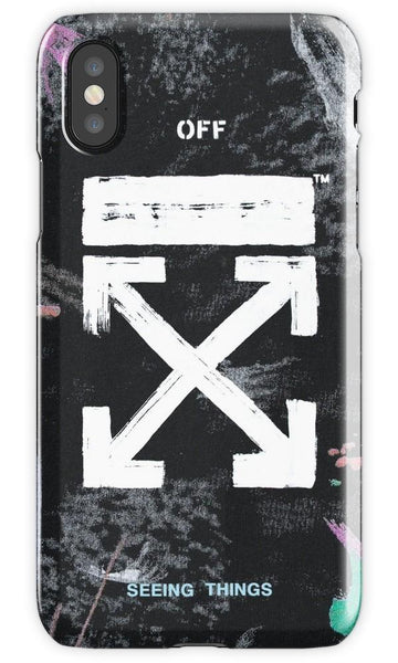 Virgin Teez Mobile Cover Off White Galaxy Brushed Black Mobile Cover