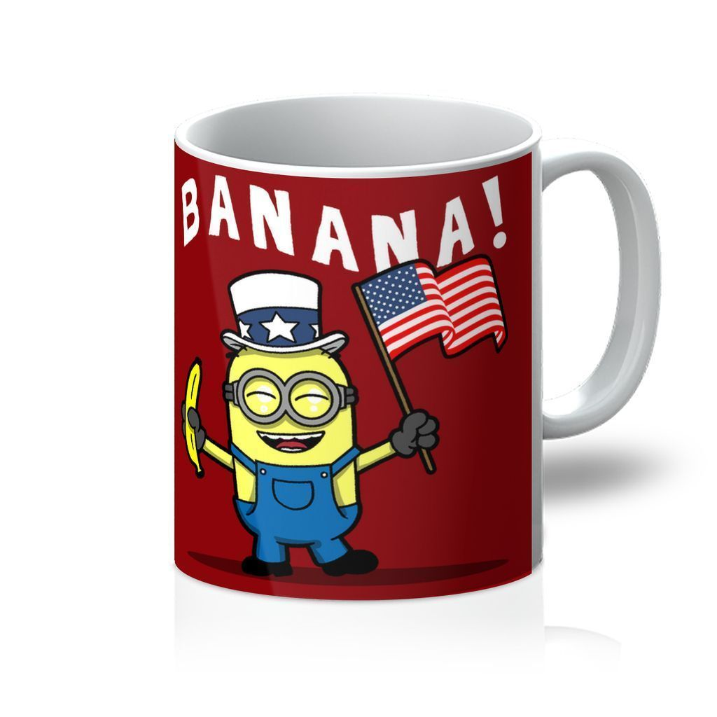 VIRGIN TEEZVIRGIN TEEZ Homeware 11oz Patriotic Minion Mug