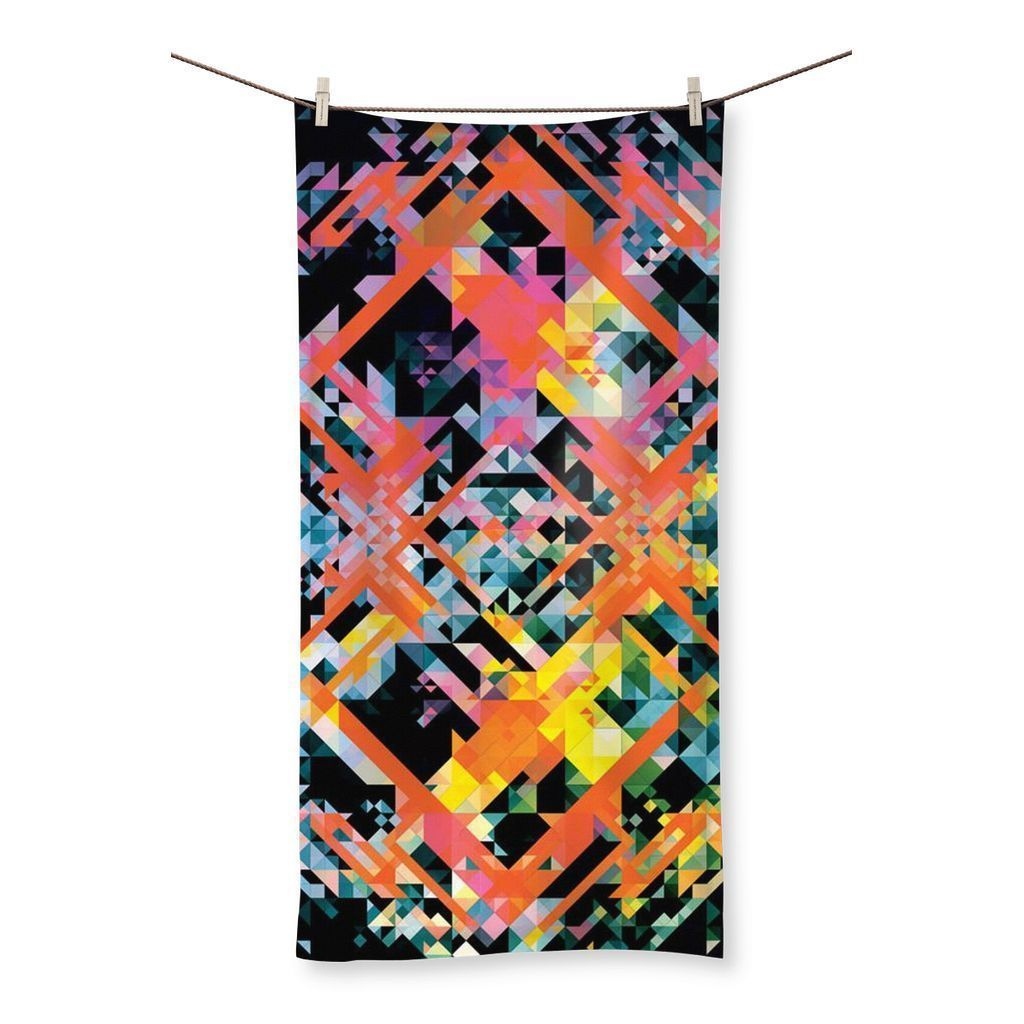 "kite.ly Homeware 19.7""x39.4"" Pattern 1 Beach Towel"