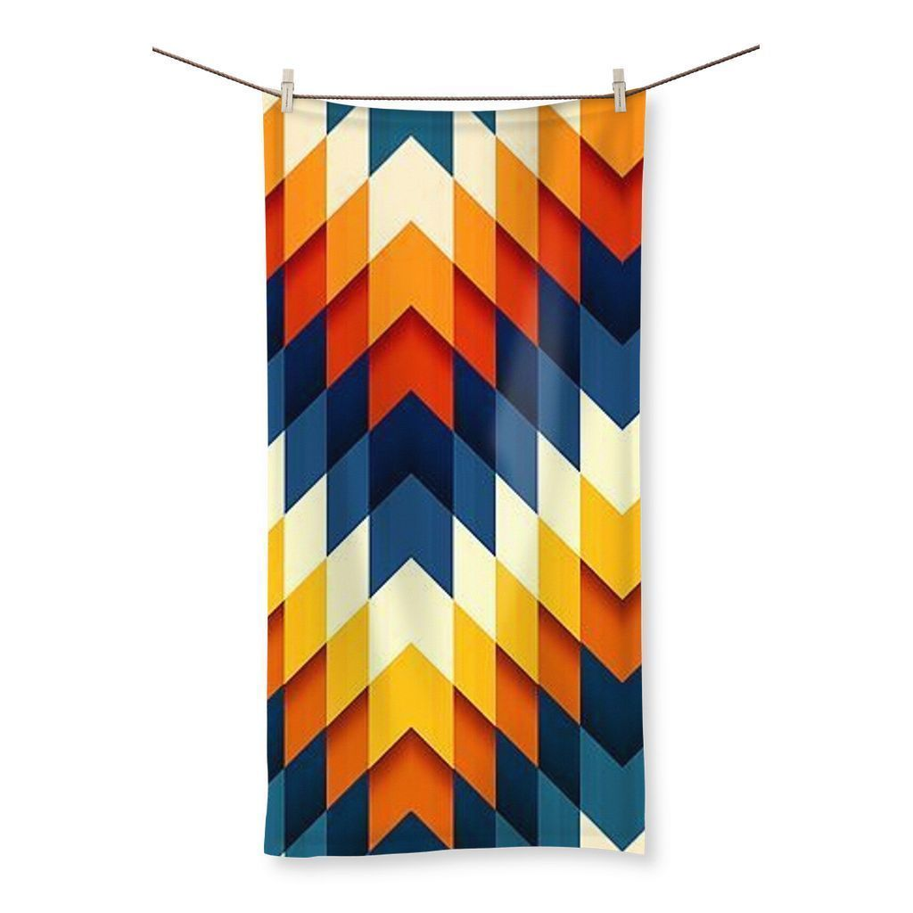 "kite.ly Homeware 19.7""x39.4"" Pattern 11 Beach Towel"