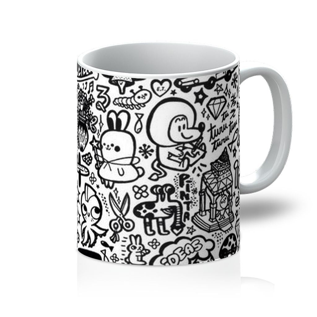 VIRGIN TEEZVIRGIN TEEZ Homeware 11oz Pattern 33 Mug