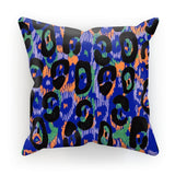 "kite.ly Homeware Faux Suede / 18""x18"" Pattern 34 Cushion"
