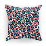 "kite.ly Homeware Faux Suede / 18""x18"" Pattern 35 Cushion"