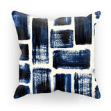 "kite.ly Homeware Faux Suede / 18""x18"" Pattern 41 Cushion"