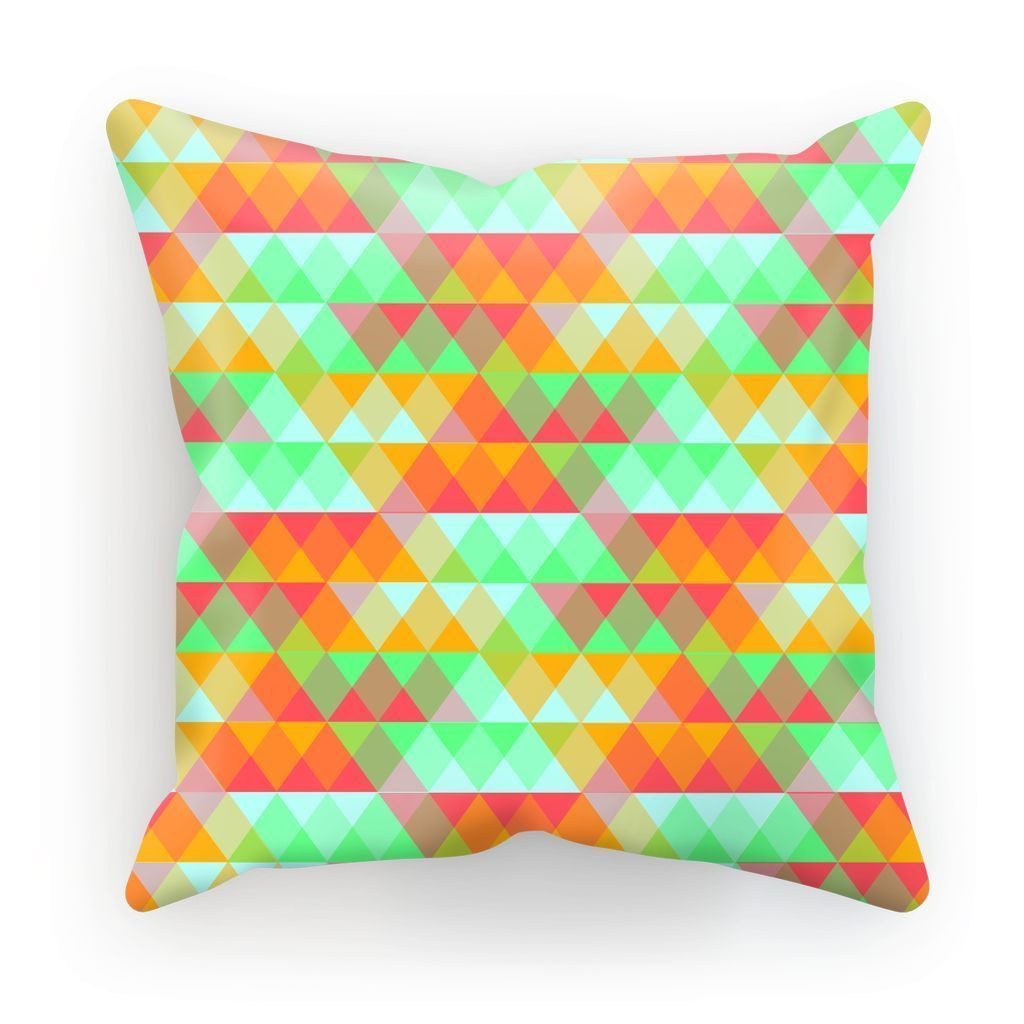 "kite.ly Homeware Linen / 12""x12"" Pattern 42 Cushion"