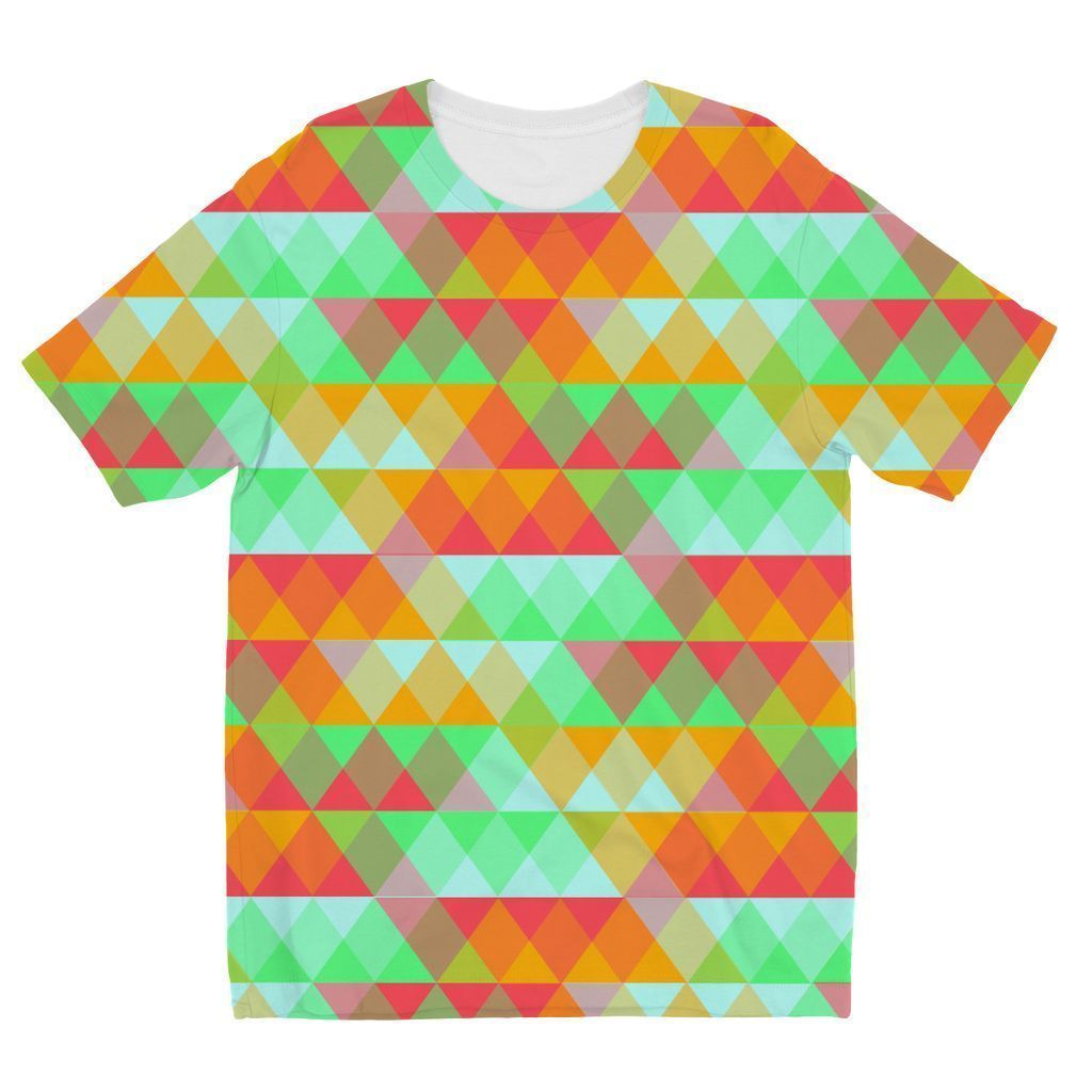 VIRGIN TEEZ Sublimation kids T-Shirt 3-4 Years Pattern 42 Kids' Sublimation T-Shirt