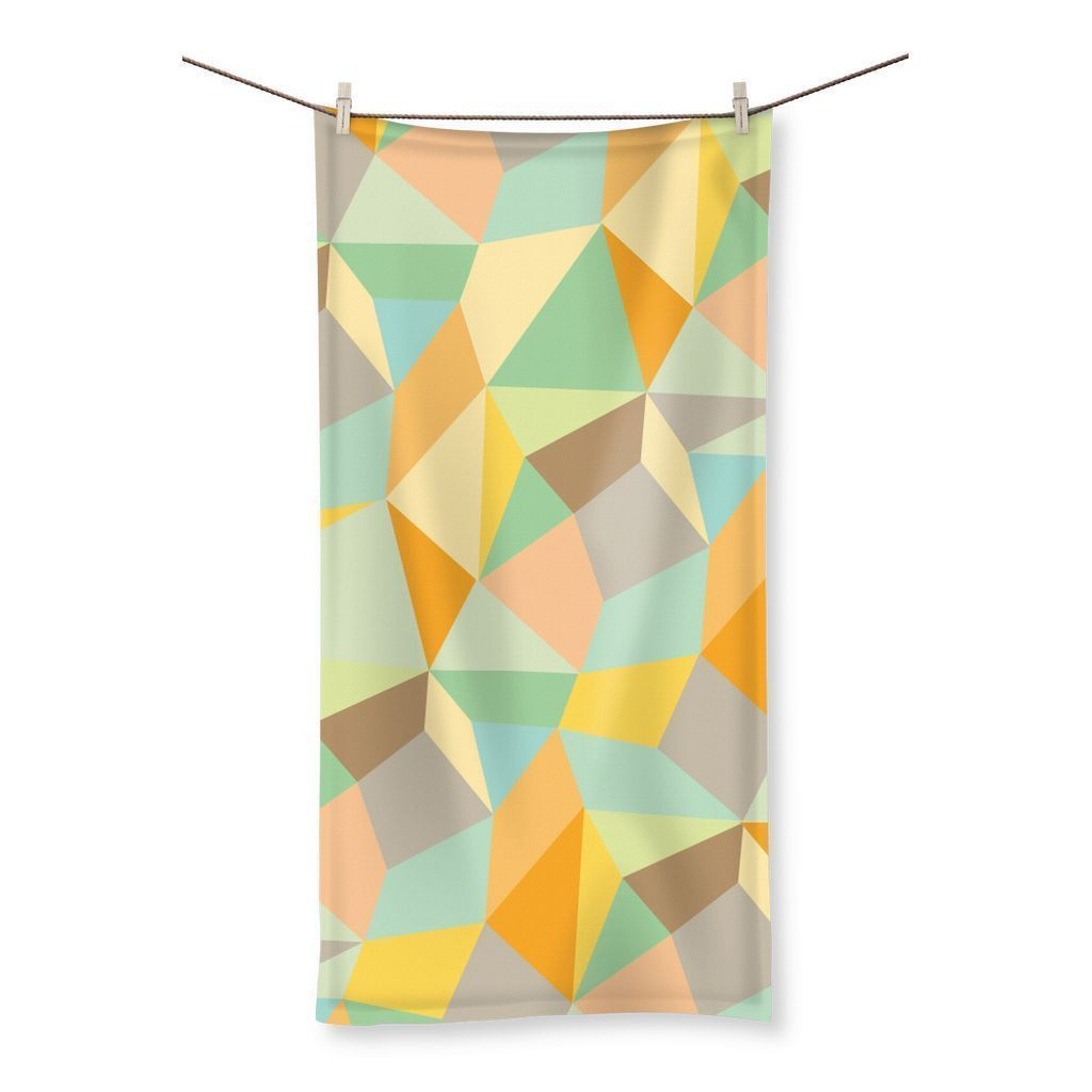 "kite.ly Homeware 19.7""x39.4"" Pattern 44 Beach Towel"