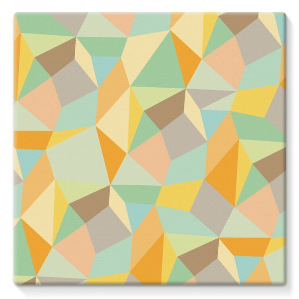 "kite.ly Wall Decor 10""x10"" Pattern 44 Stretched Canvas"
