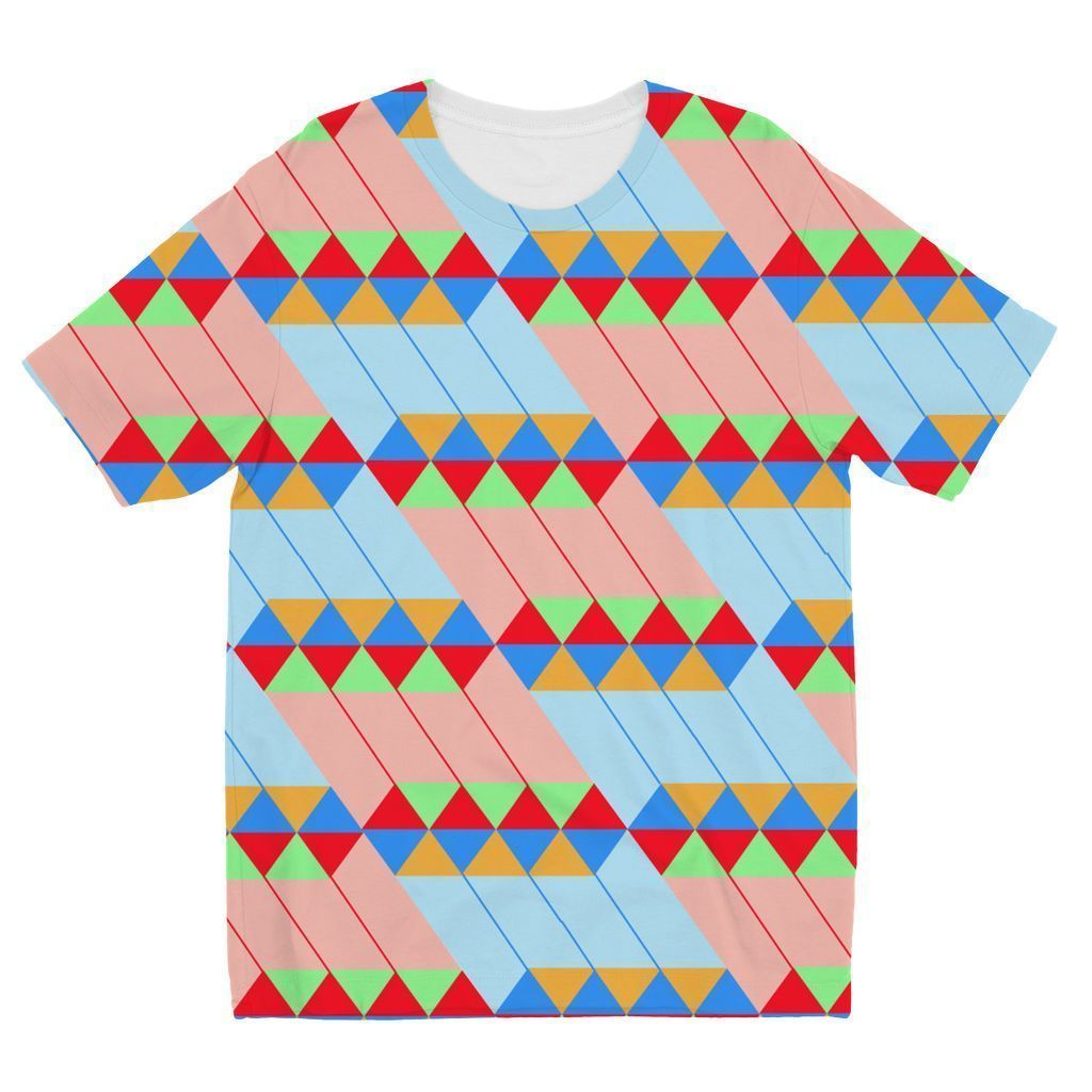 VIRGIN TEEZ Sublimation kids T-Shirt 3-4 Years Pattern 45 Kids' Sublimation T-Shirt