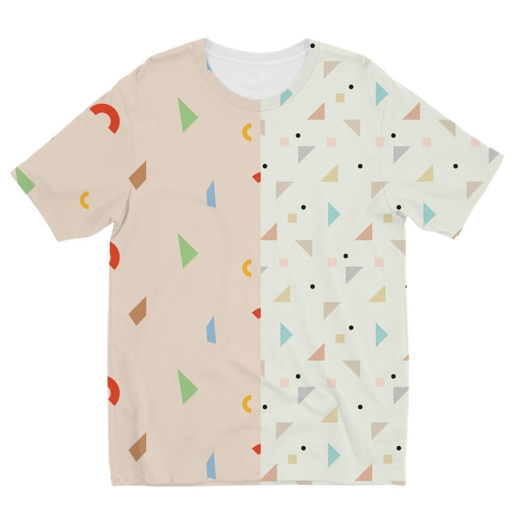VIRGIN TEEZ Sublimation kids T-Shirt 3-4 Years Pattern 48 Kids' Sublimation T-Shirt