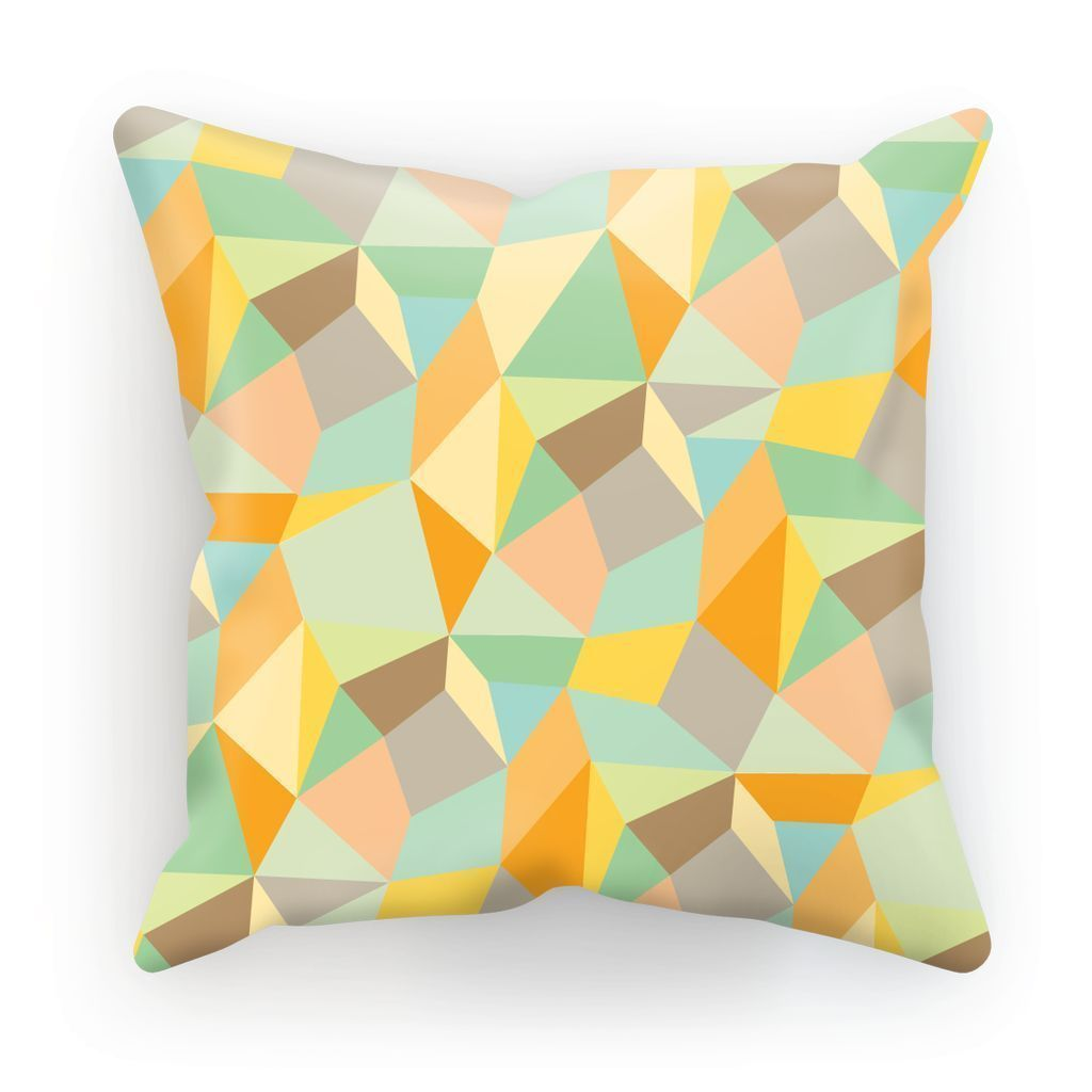 "kite.ly Homeware Linen / 12""x12"" Pattern 49 Cushion"