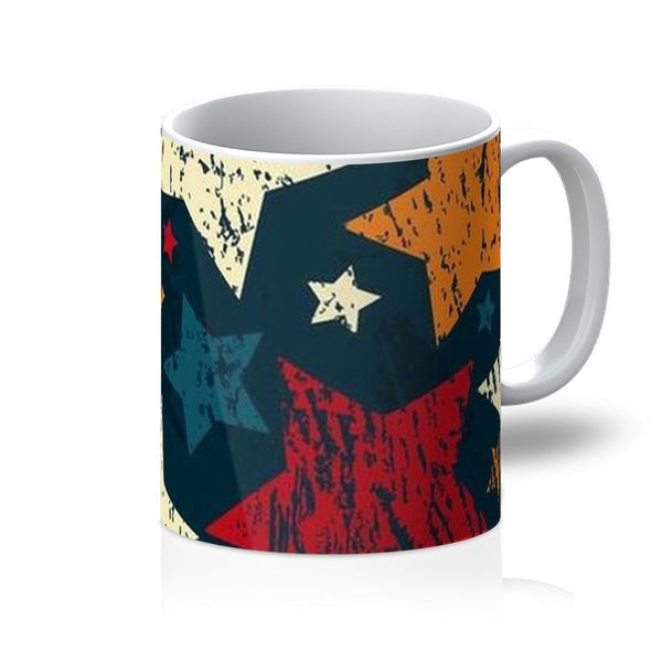VIRGIN TEEZ Homeware 11oz Pattern 7 Mug
