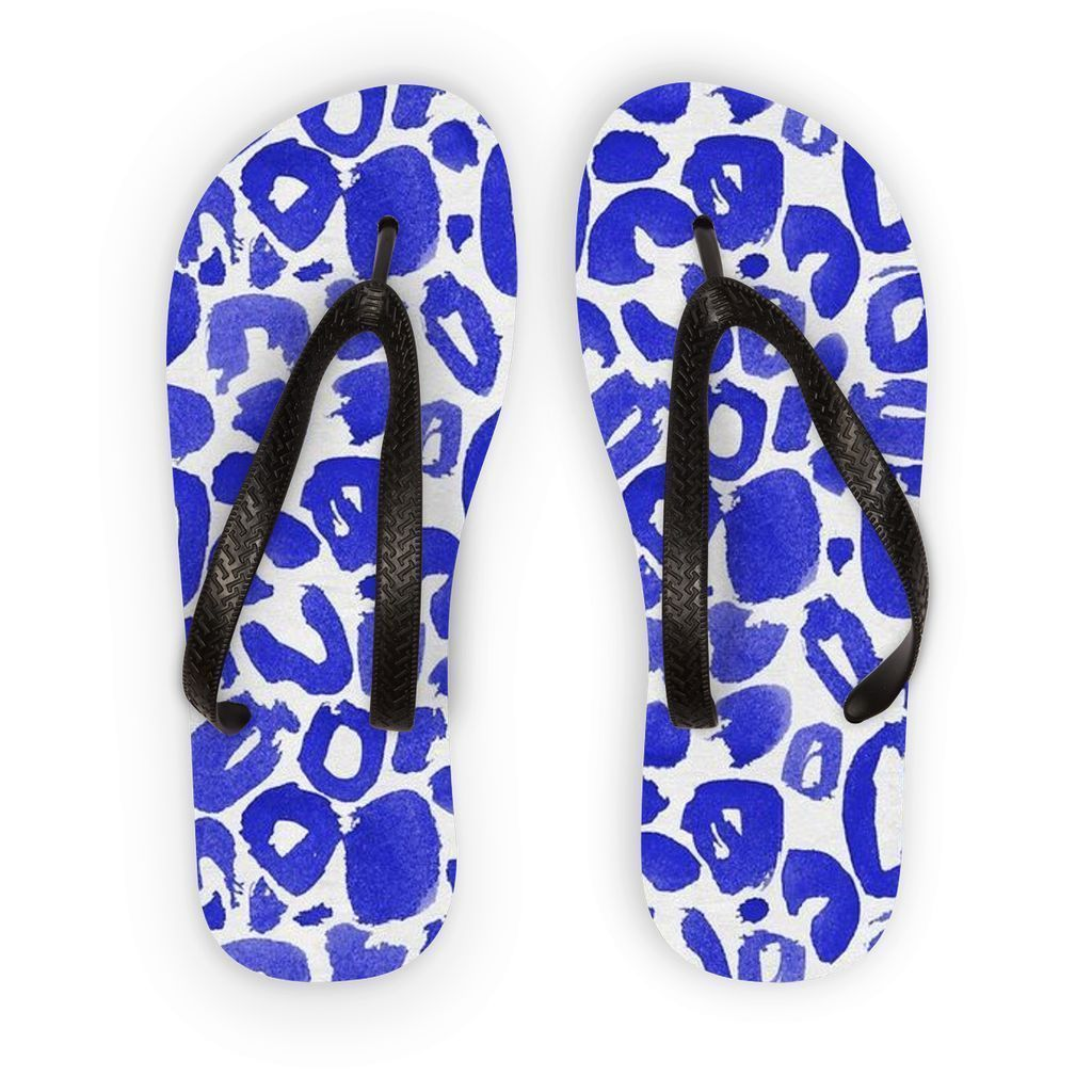 VIRGIN TEEZ Accessories S Pattern 8 Flip Flops