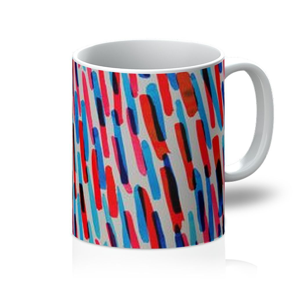 VIRGIN TEEZ Homeware 11oz Pattern 9 Mug