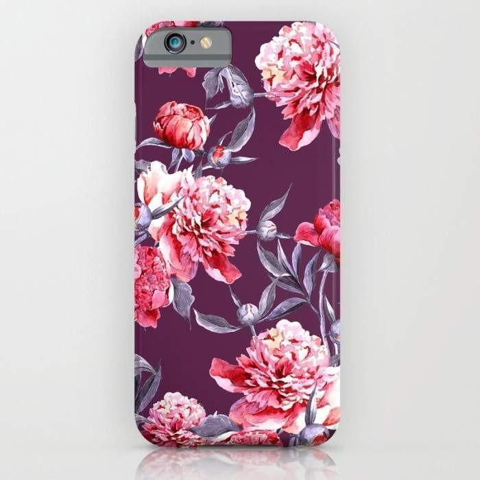 Threadless Mobile Cover Peony Mobile Cover