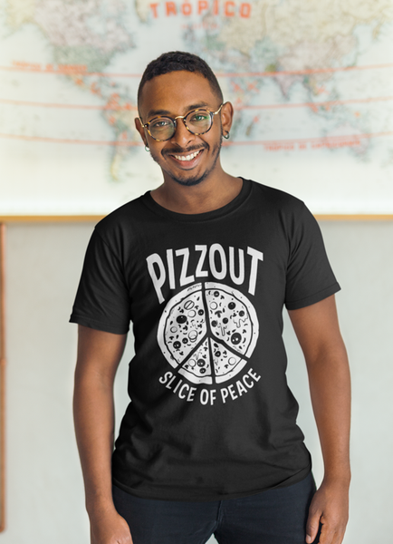 Virgin Teez T-SHIRT SMALL PIZZOUT T-shirt