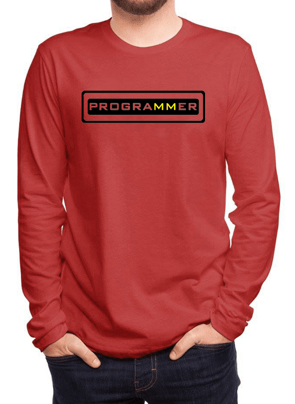Virgin Teez T-shirt Programmer Full Sleeves T-shirt