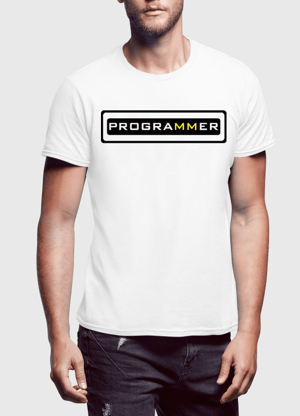 Virgin Teez T-shirt Programmer Half Sleeves T-shirt