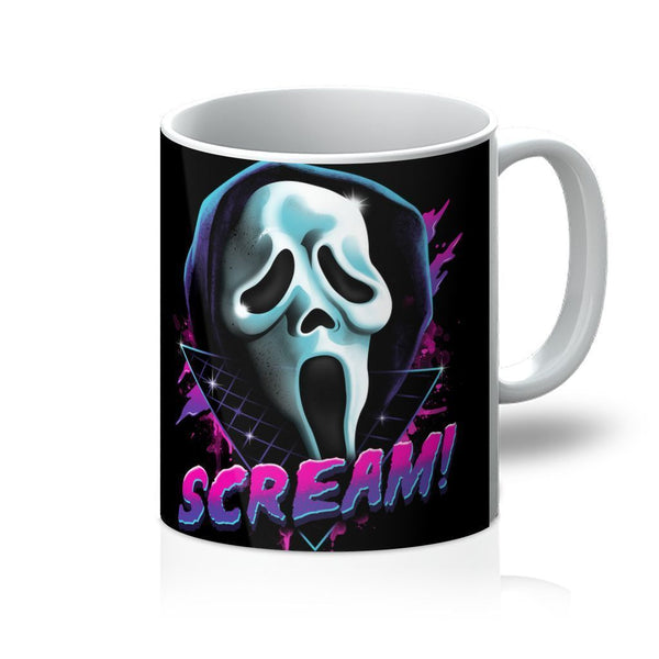 VIRGIN TEEZ Homeware 11oz Rad Scream Mug