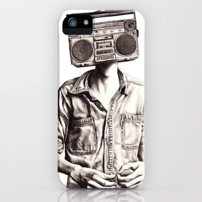 Threadless Mobile Cover Radio-Head Mobile Cover