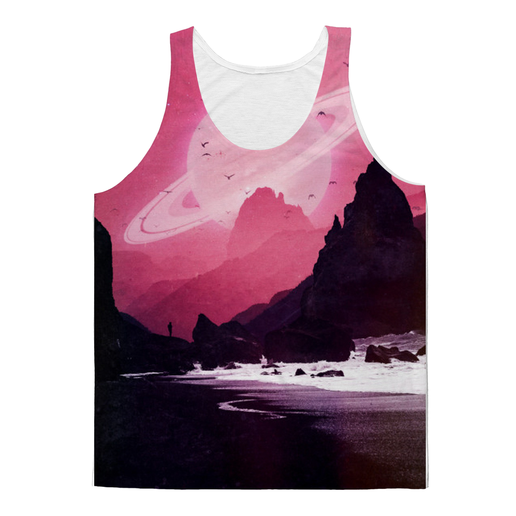 VIRGIN TEEZ Tank Top XS Roseate Classic Sublimation Adult Tank Top