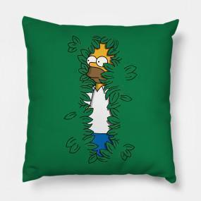 Virgin Teez pillows Sneaky Hedge Simpsons Cushion/Pillow
