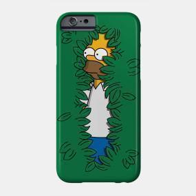 Virgin Teez Mobile Cover Sneaky Hedge Simpsons Mobile Cover