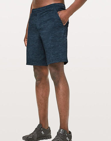 "Ayaz Ahmed Shorts SMALL (28""-18"") Speed Stopper Short 9 Inch Heather Navy"