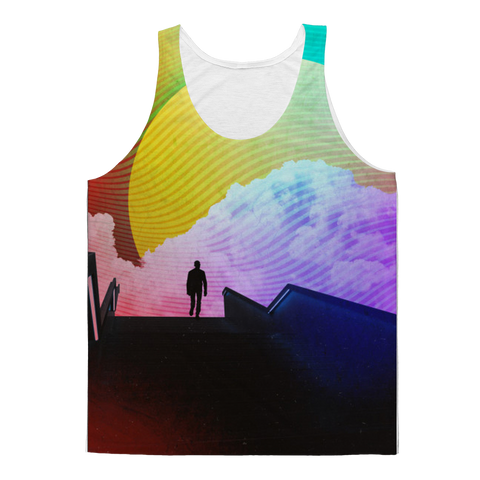 VIRGIN TEEZ Tank Top XS Steps Classic Sublimation Adult Tank Top