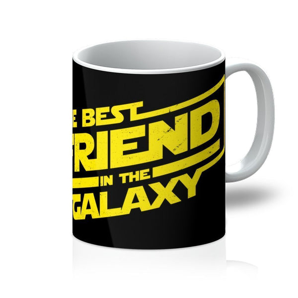 VIRGIN TEEZ Homeware 11oz The Best Friend in the Galaxy Mug