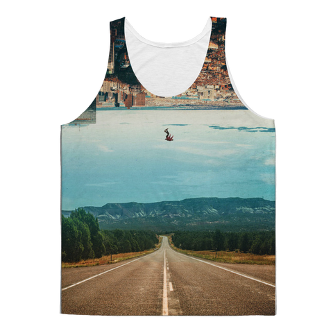 VIRGIN TEEZ Tank Top XS The Dropout Classic Sublimation Adult Tank Top