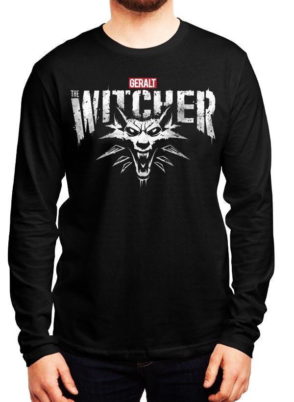 M Nidal Khan T-shirt SMALL The Witcher Full Sleeves T-shirt