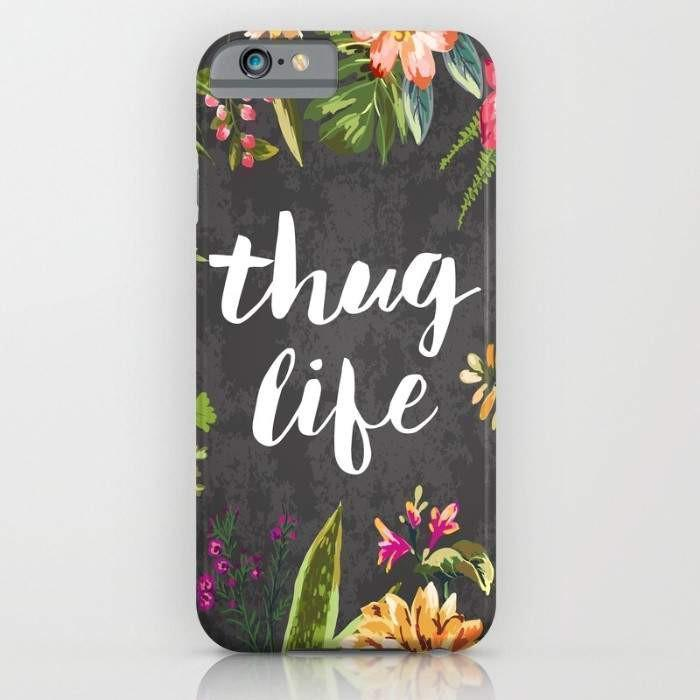 Threadless Mobile Cover Thug Life Mobile Cover