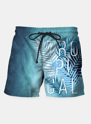 SANA NAZ Shorts Tropical Typo Shorts