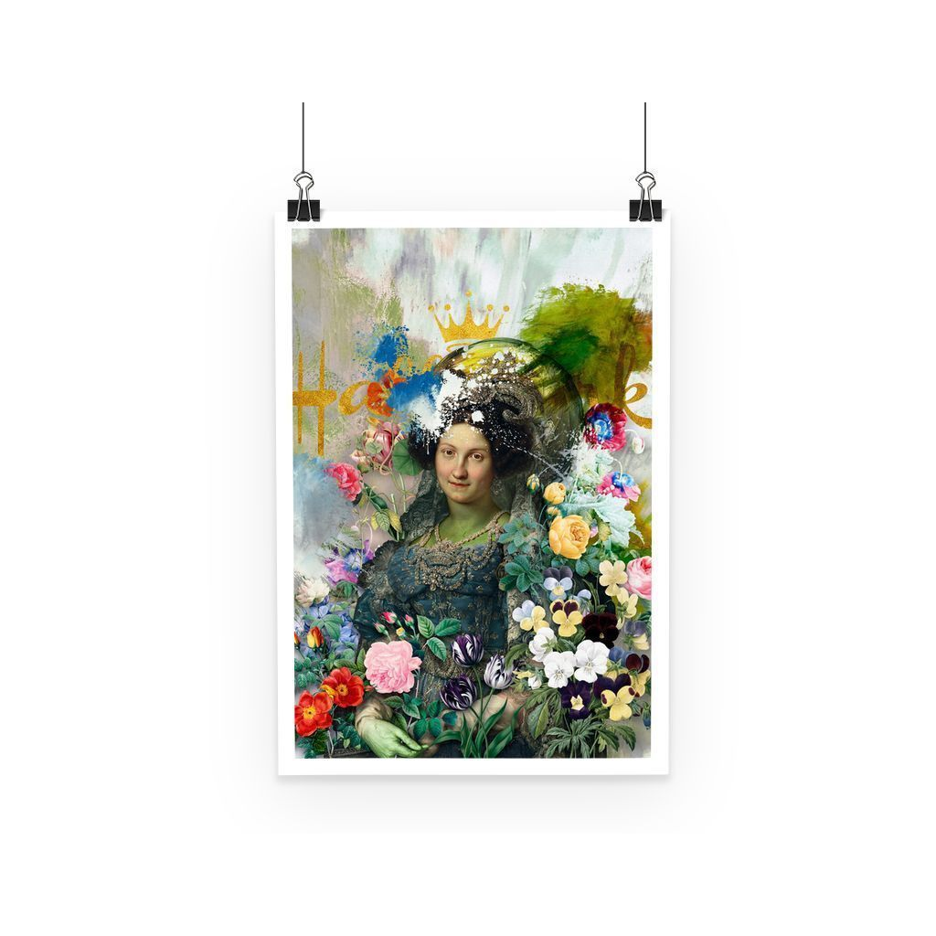 kite.ly Wall Decor A3 Vandalized Monarchy Poster