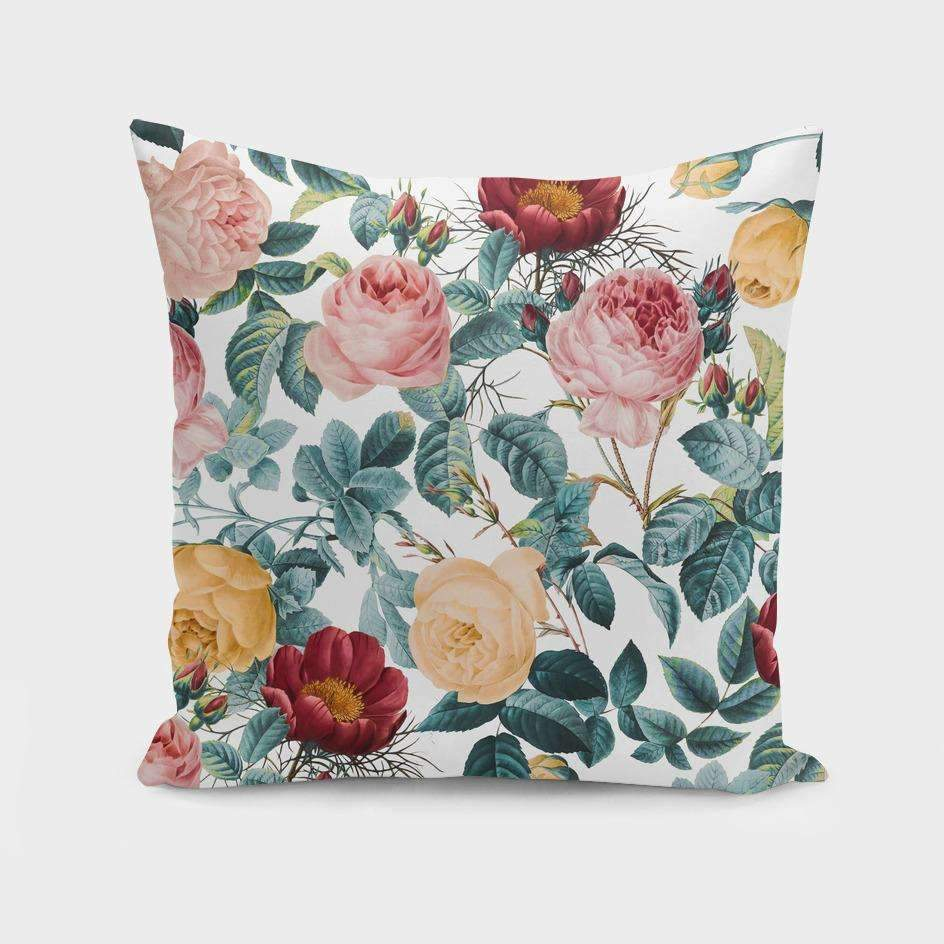 Saadana Shanmukam pillows VINTAGE GARDEN VI 1 Cushion/Pillow