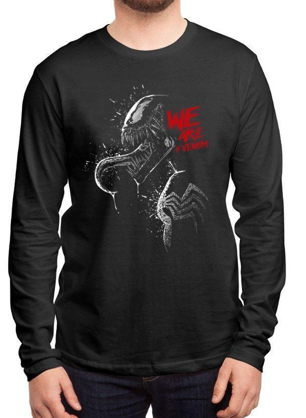 M Nidal Khan T-shirt SMALL / Black We are Venom Full Sleeves T-shirt