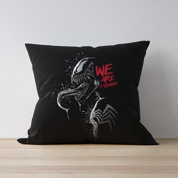M Nidal Khan Cushion We are Venom Pillow/Cushion