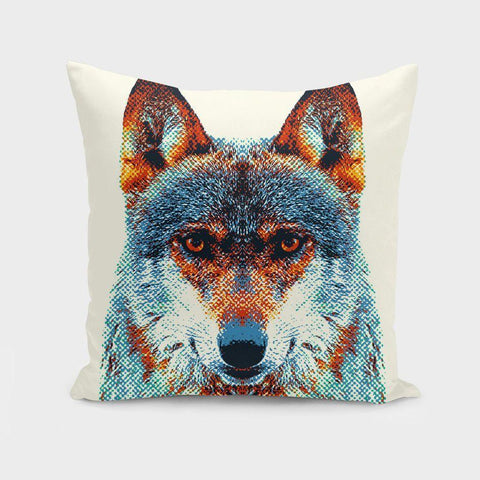The Pillow pillows Wolf - Colorful Animals  Cushion/Pillow