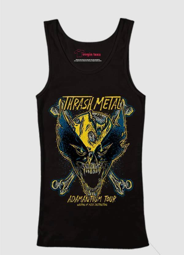 M Nidal Khan Tank Top SMALL Wolverine Adamantium Tank Top