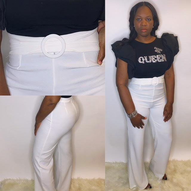 """VANESSA"" High Waist Slacks"